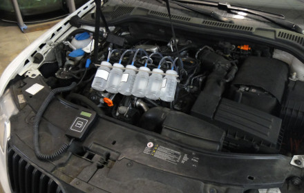 servis diesel motorů